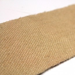 Sangle de jute naturelle - 8,5 cm de large