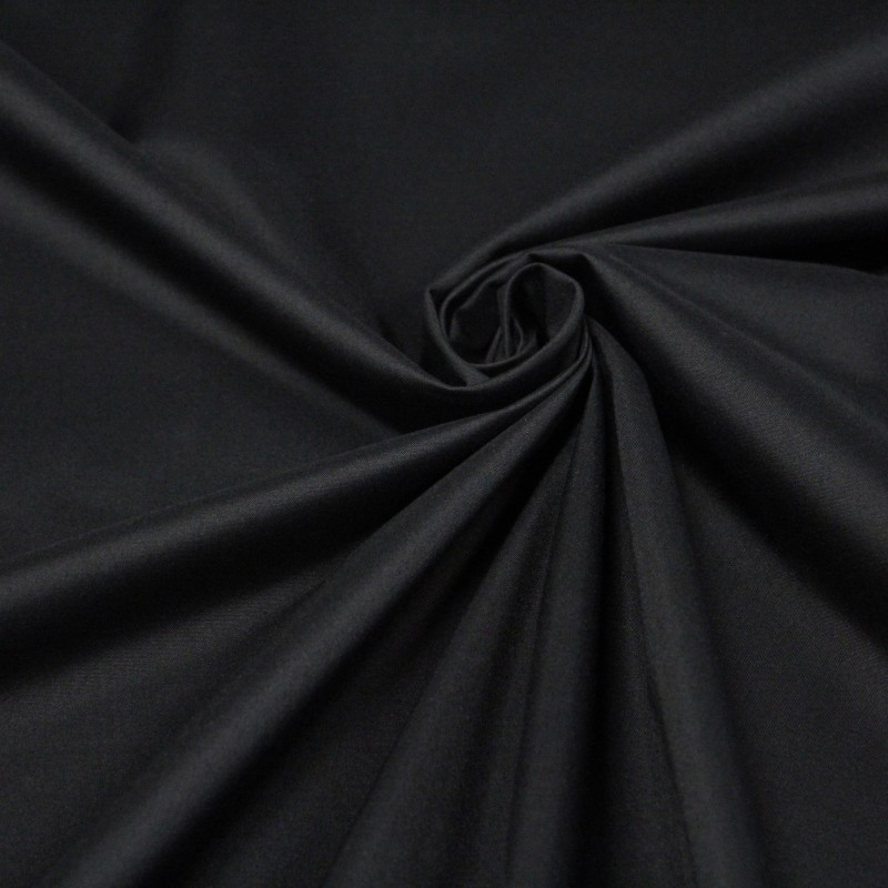 Tissu occultant noir, black out complet 100% occultant