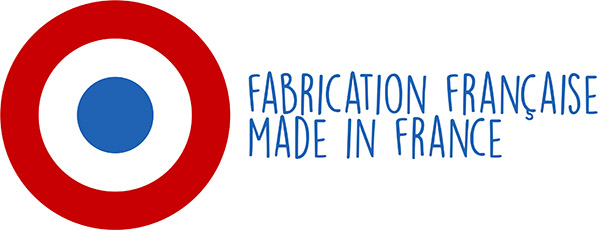 Logo Made in France Fabrication Française Tissus Papi